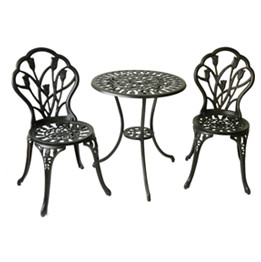 cast aluminum outdoor furniture